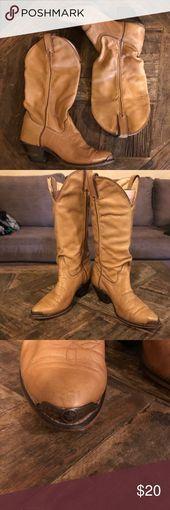 Code West Westernstiefel für Damen Cowboystiefel aus Leder für Damen. Super weich. Licht ta