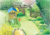Ein Reihenhausgarten im neuen Gewand