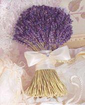 Lavanta Gelin Buketi Modelleri ve Lavanta Gelin Çiçeği Yapımı