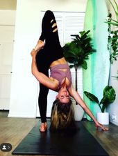Home yoga practice @yoga_ky