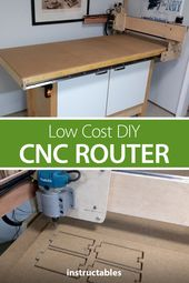 Low Cost DIY CNC Router