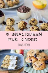 5 healthy snack ideas for children