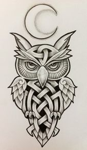 Image result for celtic owl meaning   – OMO