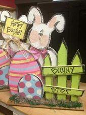 40+ DIY Easter Wood Crafts, die ein Ergebnis von Arbeit, Liebe und Geduld sind