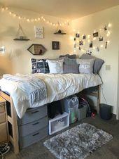 Inspirational dorm room decorating and storage organization ideas 8