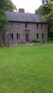 Ich liebe die Farben dieses Hauses! *   – House exterior