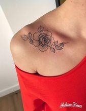 Schlüsselbein Tattoo – Tattoo Platzierung