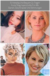 Dieses Jahr aktualisieren Sie Ihren Aussehen und fangen Sie mit einem neuen, trendigen Kurzhaarschnitt an! #hair #coole #bob #bobfrisuren