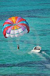 Parasailing Turks And Caicos Parasailing Adventure Caribbean