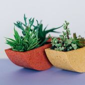 Pretti.Cool Totter Planters aren't only fun and colorful – they're sustain…
