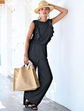 Jumpsuit von PORTRAY BERLIN: Der neue Fashion-Star zeigt sich als eleganter ...