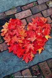 Kreative und Großartige Herbstlaub