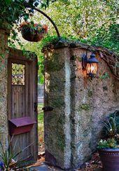Garden door design – 20 creative ideas