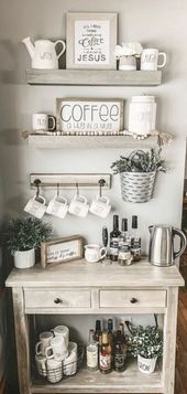 Coffee Bar Ideas – DIY Coffee Station and Home Coffee Bar Ideas