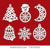 Photo of Weihnachtsdekoration: Tannenkegel, Haus, Weihnachtssock, Geschenkbox, Laterne, Stock-Vektorgrafik