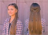 How to style different braided hairstyles for children yourself! | Hairstyles women … – #braided #Children #hairstyles #Style #women