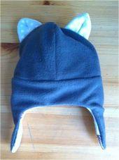 Bonnet chat cache oreille – Celle qui ne savait pas coudre