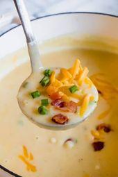 Creamy Potato Soup ,  #Creamy #Potato #simplepotatosoup #Soup
