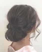 loose updos   pretty messy wedding updo hairstyle,updo hairstyle,messy wedding hairstyles for long hair #weddingupdosforlonghair