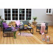 Kaufen Sie die Sitzgruppe Vlora (4-teilig) online und sichern Sie sich viele …   – garten