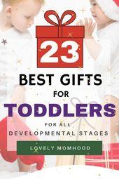 23 beste Geschenke für Kleinkinder (für alle Entwicklungsstadien) – Mommy Tips & Hacks Group Board