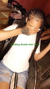 Easy & Trending Braids Hair Style Ideas #briadshair