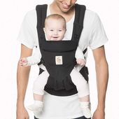 Baby Carrier Ergobaby Omni 360 All-in-One Ergonomic Baby Carrier, All Carry Positions, Newbor...