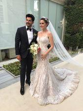 Denna turkiska TV-stjärna gjorde något extra speciellt för att säkerställa att hennes klänning var den perfekta matchen