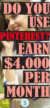 $4,000 PER MONTH BY PINING ON PINTEREST – Amanda Valentine