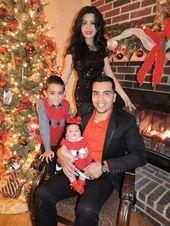 Photo of Weihnachtsbildideen, Familienbilder, Neugeborene, Weihnachtsbaum, Kamin