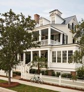 Coastal style home in North Carolina offers inviting living spaces