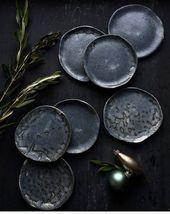 Ces assiettes en céramique sont entièrement faites à la principal et sont uniques. Les assiettes ….