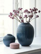 Kähler Design Hammershøi Vases | elbdal.de | Scandinavian home accessories …