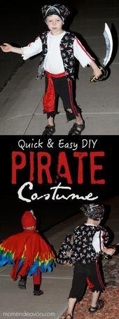 Quick & Easy DIY Pirate Costume