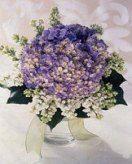 54+ Trendy Hochzeitsblumen Hydrangea Lila Blumenarrangements   – Wedding Dress