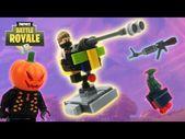 Lego Fortnite – (Mounted Turret, Heavy AR und Jack Gourdon) – YouTube   – LEGO