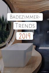 Entdecken Sie die neusten Badezimmer Trends 2019, Freistehende Badewannen, Ebene…