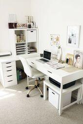 14 Genius Home Office-Organisationsideen zum Erstellen des perfekten Arbeitsbereichs