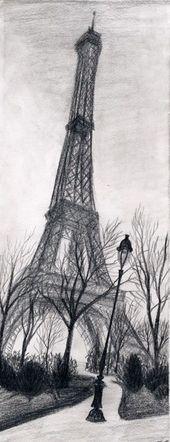 Eiffelturmzeichnung und Skizzen (8) Weil ich nicht Paris wäre, wenn ich nicht … – Architektur und Kunst