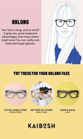 22+ Super Ideas for glasses for your face shape oblong beauty glasses for your f… – Brille