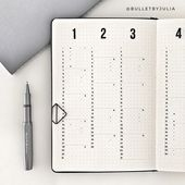 More Minimalist Bullet Journal Accounts To Inspire…