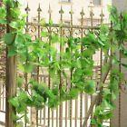 5X Hängende 2.2M Künstliche Ivy Vine Gefälschte Laub Blume Blatt Girlande Pfl…