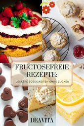 Menschen mit Fructoseintoleranz müssen nicht auf leckere Süßigkeiten verzicht...