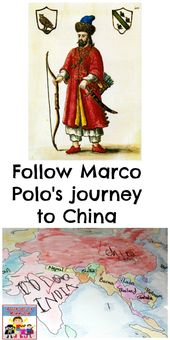 Marco Polo map lesson