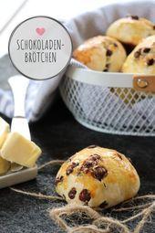 Schokoladenbrötchen-Rezept: Ideal als schneller Snack – #ideal #rezept #schneller #schokoladenbrotchen #Snack –