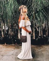 21 Stylish Maternity Outfits for Spring and Summer – Short Hairstyles
