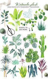 Der Innenarchitekt von Scandi-Zimmerpflanzen von beauty fällt auf den kreativen Markt   – Bullet Journal