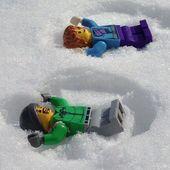 Schneeengel #legos #legosinlove   – Lego Ideen