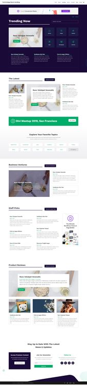 Free Technology News Layout Pack For the Best WordPress Theme