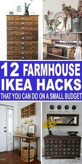 12 Farmhouse IKEA Hacks, mit denen Sie eine Menge Geld sparen